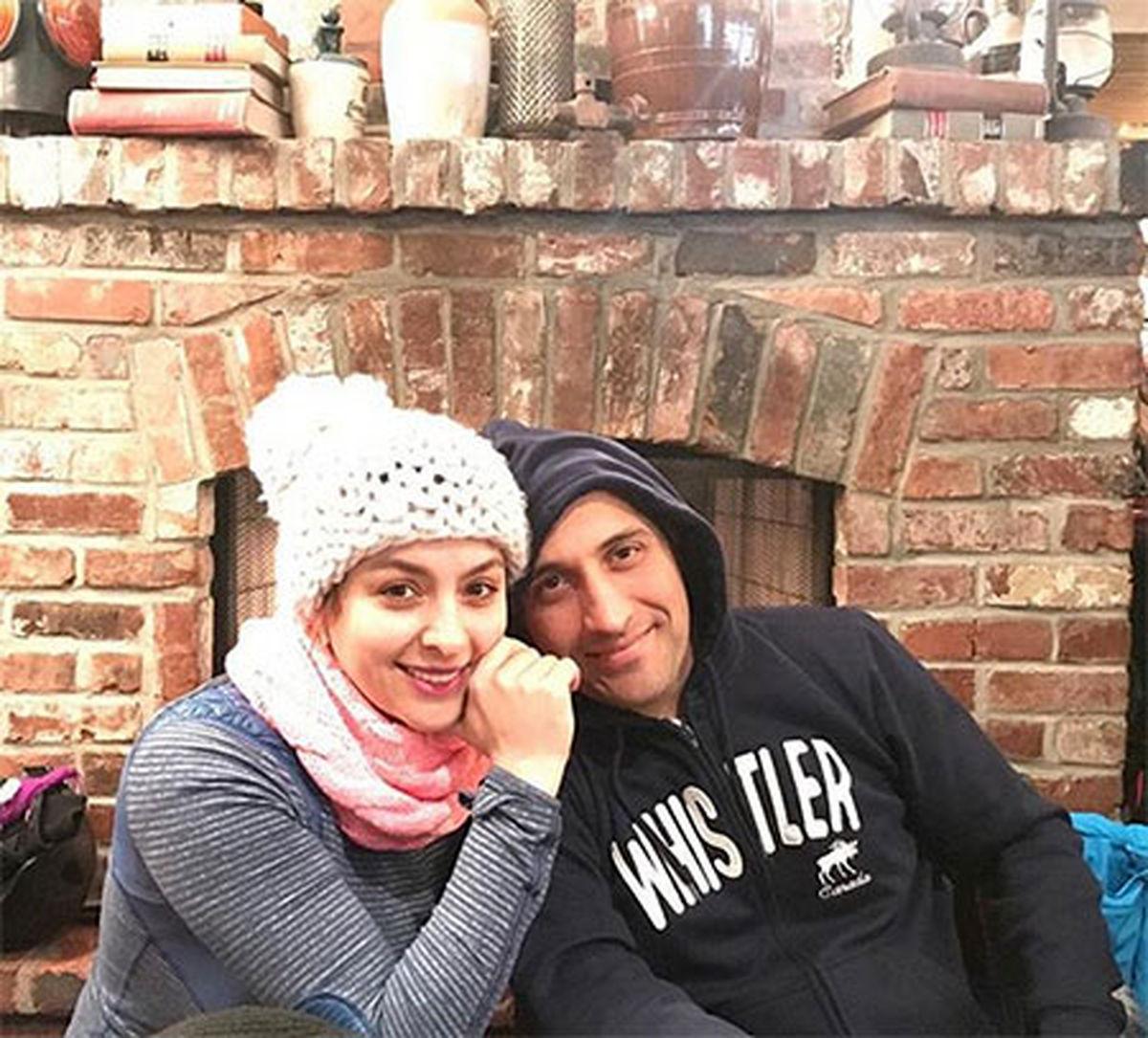 مارال بنی آدم در کنار همسرش + عکس
