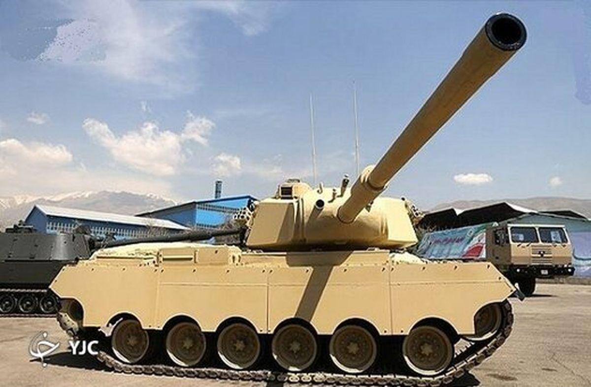 فناوری نظامی ارتش که تنه به تنه تانک ام ۴۷ آمریکایی میزند