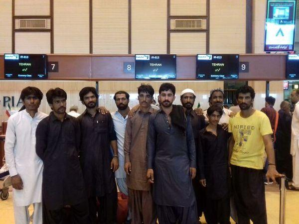 ۱۰ صیاد ایرانی از زندانهای پاکستان آزاد شدند