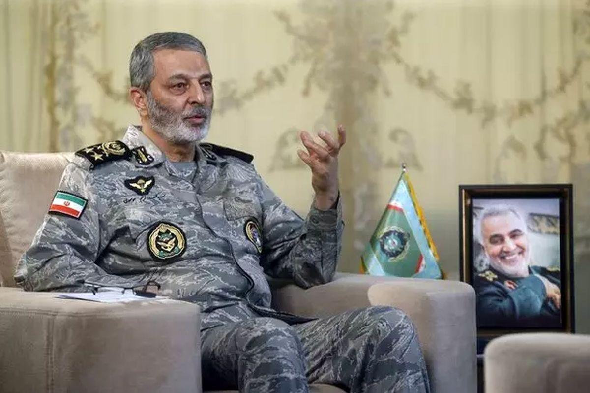 سرلشکر موسوی: تلاش دشمن برای جلوگیری از اجرای ماموریت ناوگروه «نداجا» شکست خورد