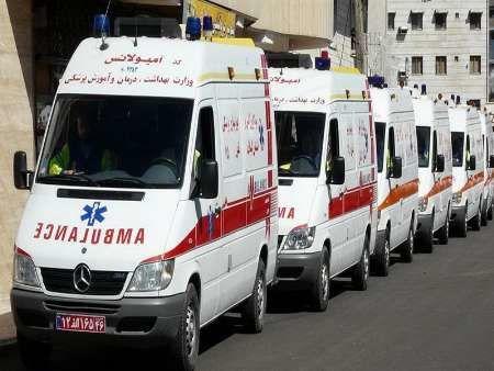 اورژانس تهران یک پیرمرد عراقی را در فرودگاه نجات داد