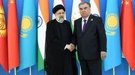 ضیافت نهار رئیس جمهور تاجیکستان به افتخار رئیسی