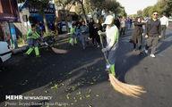 گزارش تصویری/ راهپیمایی جاماندگان اربعین در تهران