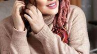 تیپ هنری و متفاوت سارا منجزی پور در کنار خواننده معروف+عکس