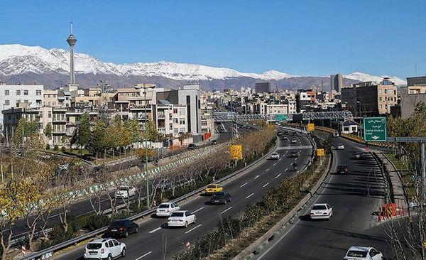 علت آلودگی هوای تهران