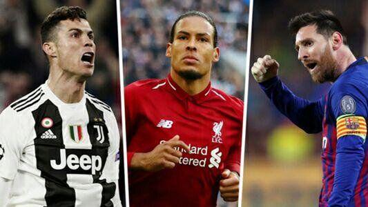 مسی، رونالدو و فان دایک نامزدهای بهترین بازیکن سال یوفا