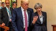 تقابل نخست وزیر انگلیس با رئیس جمهور آمریکا بعد از انتقاد توییتری ترامپ