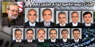 تصاویر: با هیات رئیسه جدید مجلس آشنا شوید