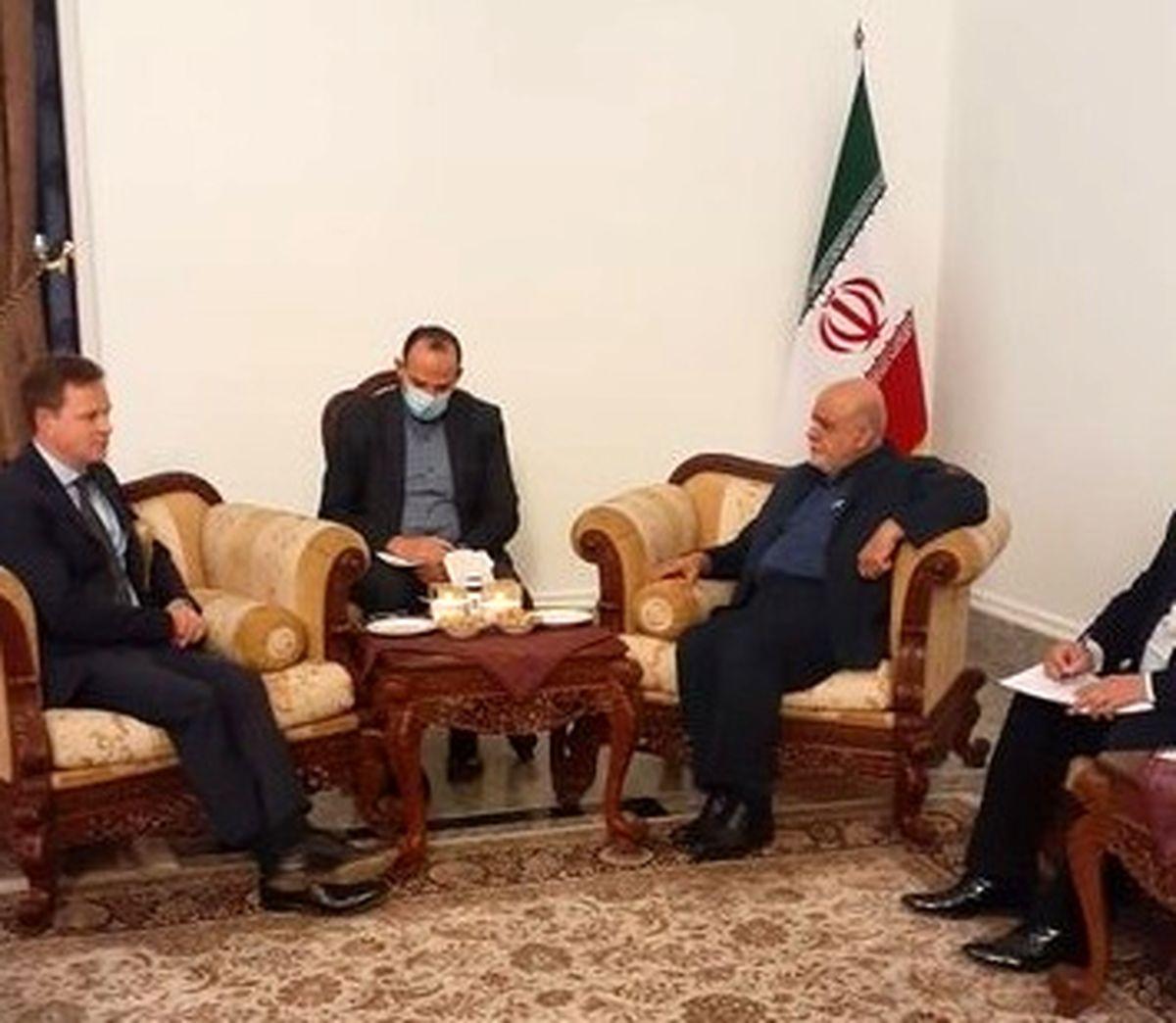 رایزنی سفیر ایران با همتای انگلیسی در بغداد