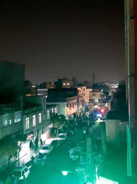 تیرانداری عجیب خونین در تهران + عکس
