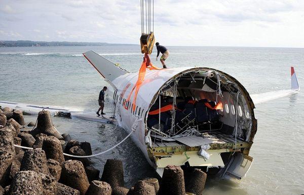 نام «لاین ایر» اندونزی؛ همراه با حادثه تا تصادف در باند فرودگاه+تصاویر