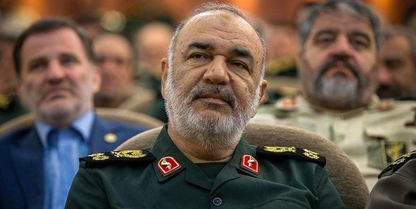 آمادگی سپاه برای همکاری درپیام تبریک سرلشکر سلامی به رئیس مجلس