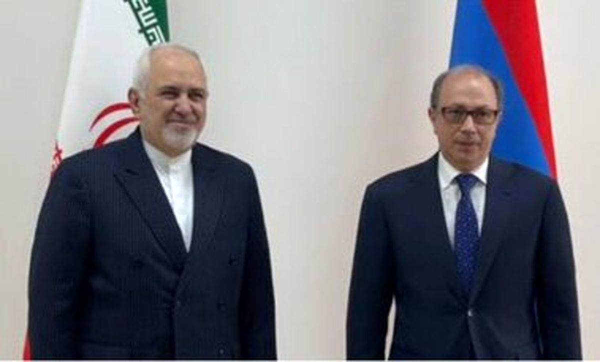 دیدار وزرای خارجه ایران و ارمنستان در ایروان