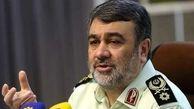 فرمانده نیروی انتظامی: دستگیری اخلالگران عبور کامیون ها