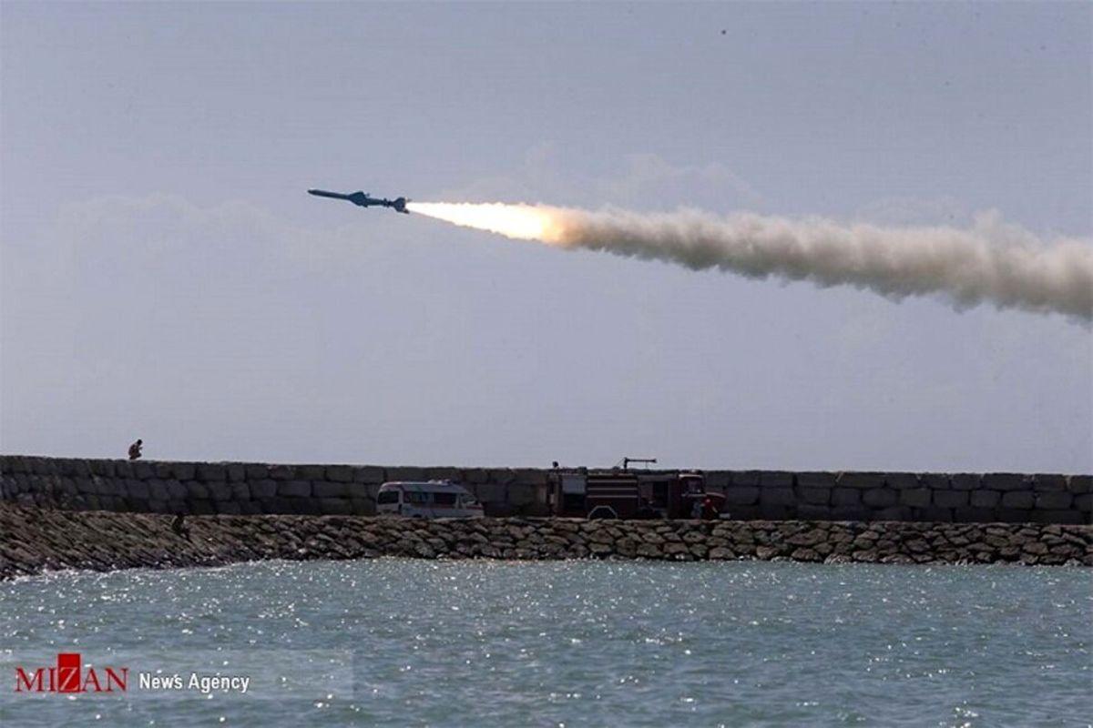 این موشک ایرانی شبح خلیج فارس شده است