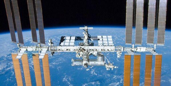 تصویر آغاز سال 2020 در ایستگاه فضایی