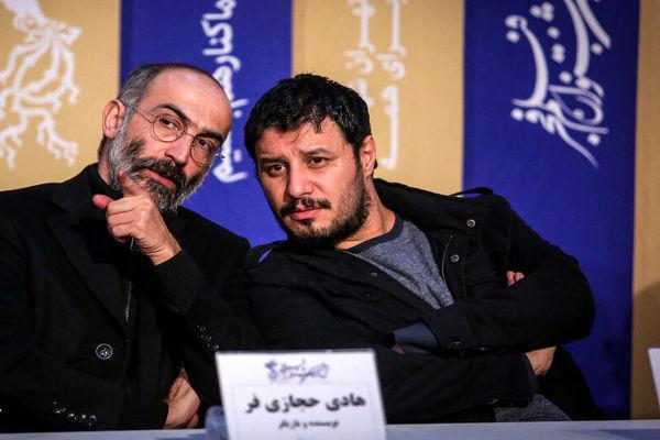 عکس، اشاره حجازی فر و قهقهه جواد عزتی