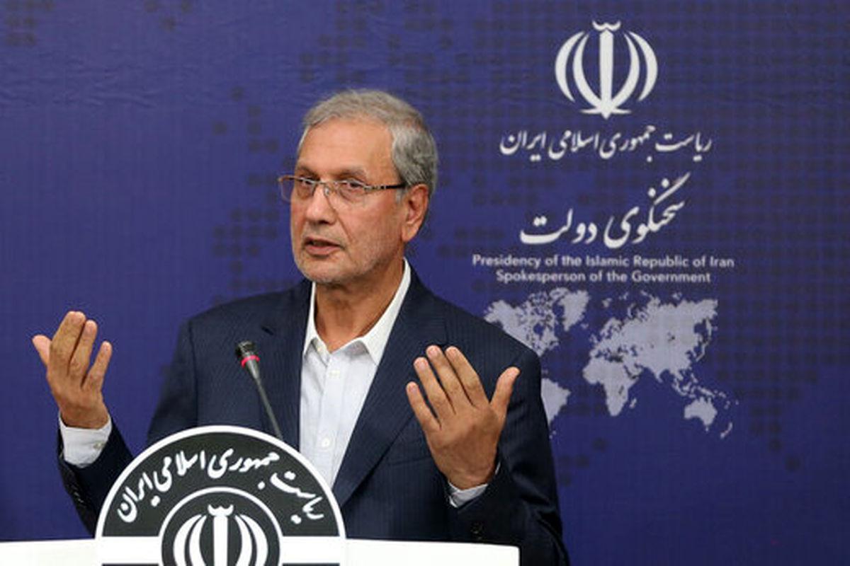 تحلیل سخنگوی دولت از نزاعهای سیاسی مطرح در جامعه ایران در قبال آمریکا