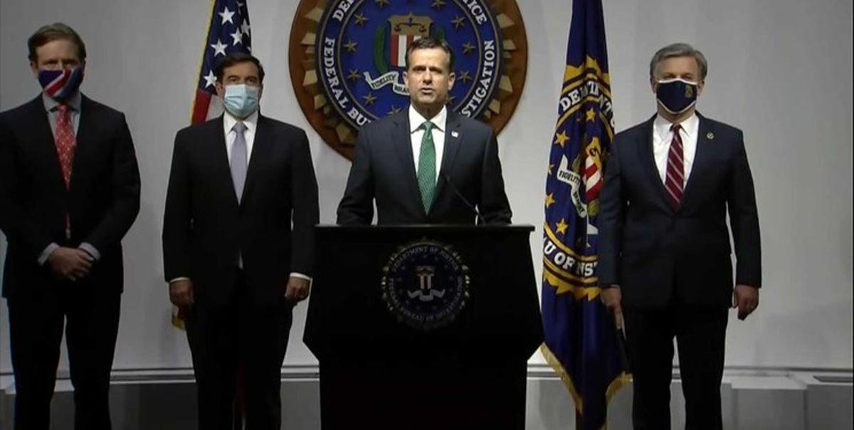 پالتیکو: برخی اظهارات رتکلیف درباره مداخله ایران در انتخابات آمریکا خارج از متن بود