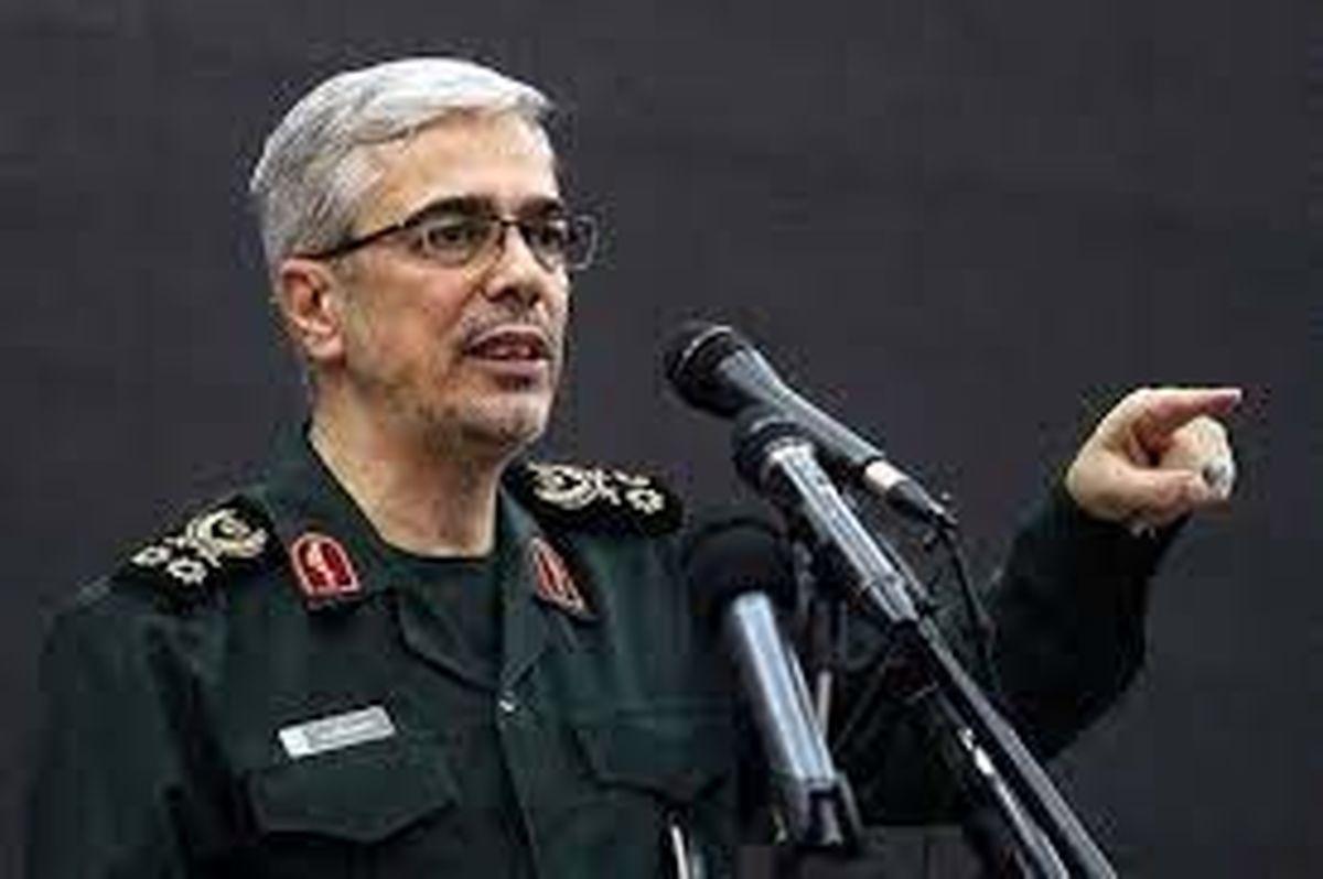 گزارش رئیس کل نیروهای مسلح از وضعیت امنیتی مرزها