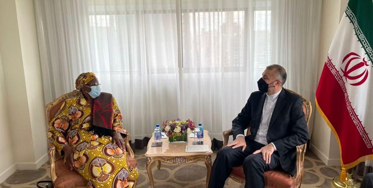 دعوت امیرعبداللهیان از وزیر خارجه نامیبیا برای سفر به تهران