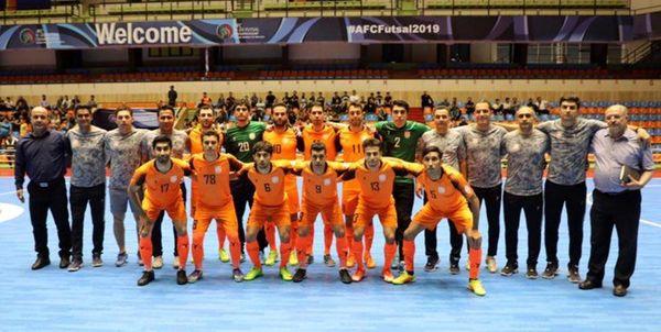 برنامه رده بندی و فینال فوتسال جام باشگاههای آسیا اعلام شد