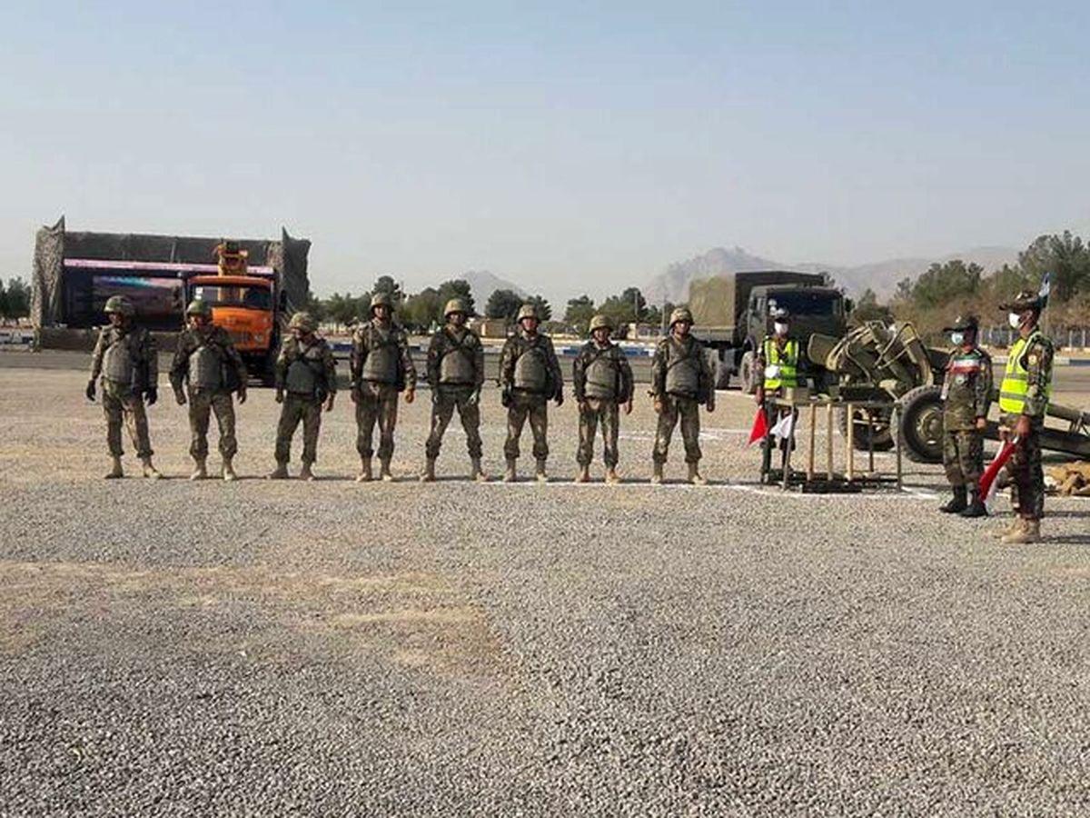 رقابت تیمهای نظامی ایران و ازبکستان در مسابقات بینالمللی ارتشهای جهان