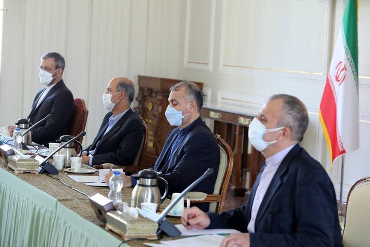جلسه ای که برای بررسی حضور موثر رئیسی در اجلاس شانگهای برگزار شد