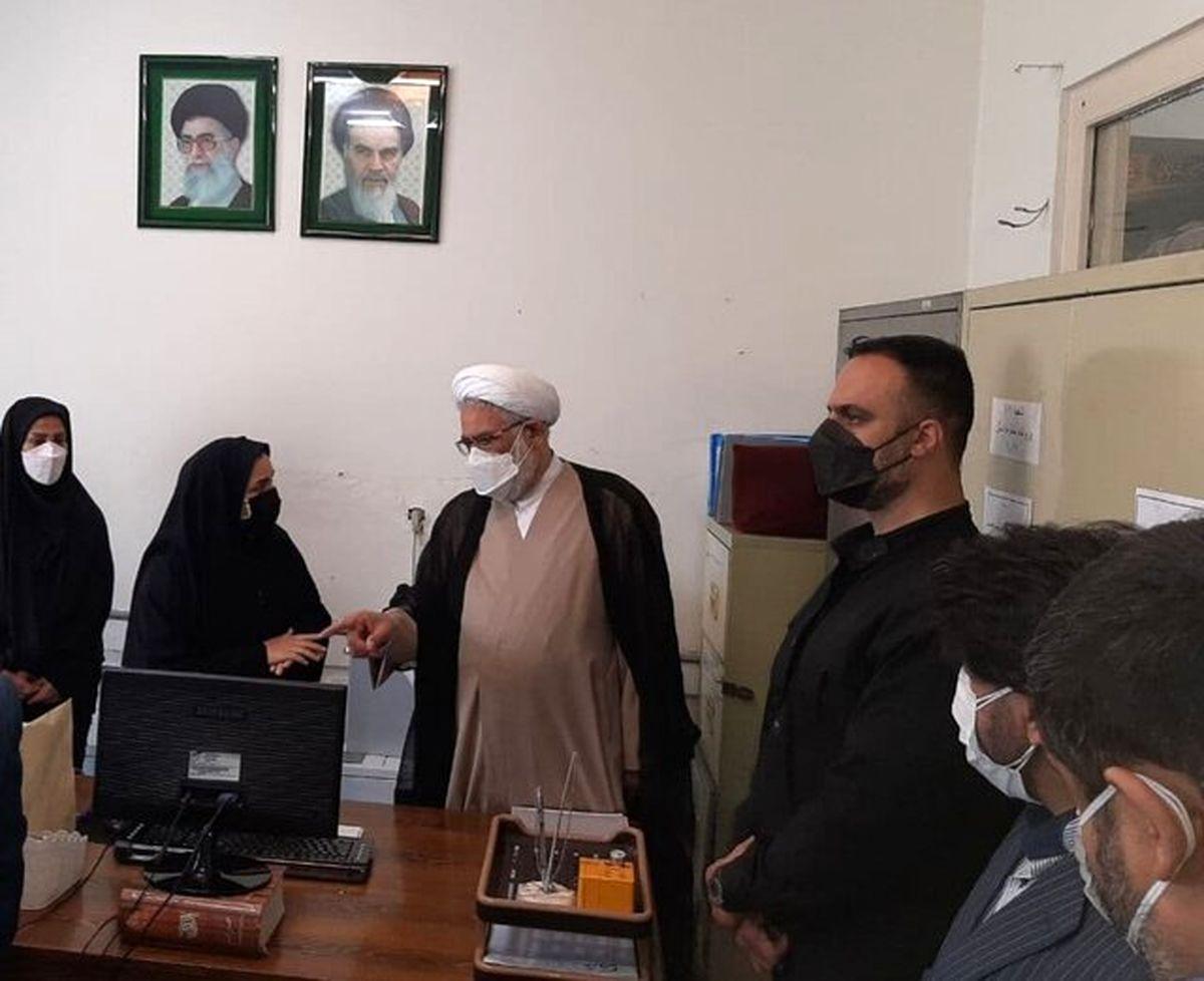 بازدید دادستان کل کشور از مجتمع شماره ۱۰ شورای حل اختلاف تهران