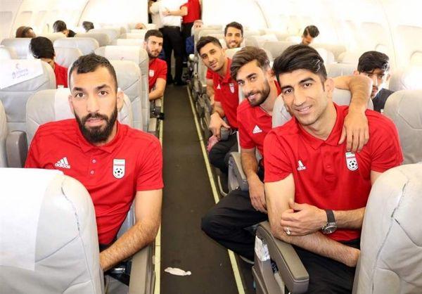 تیم ملی بامداد چهارشنبه به تهران میرسد