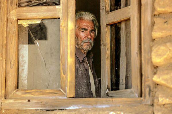 خروج ابراهیم حاتمیکیا؛عکس
