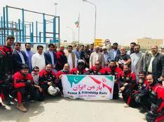 ورود موتور سواران پاکستانی به ایران