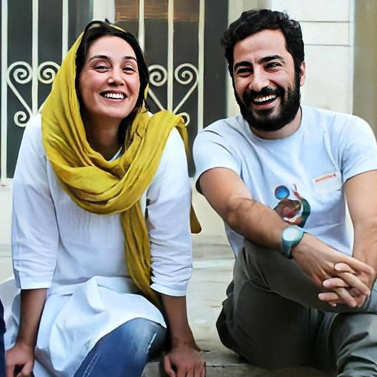 رونمایی از لباس جذاب هدیه تهرانی