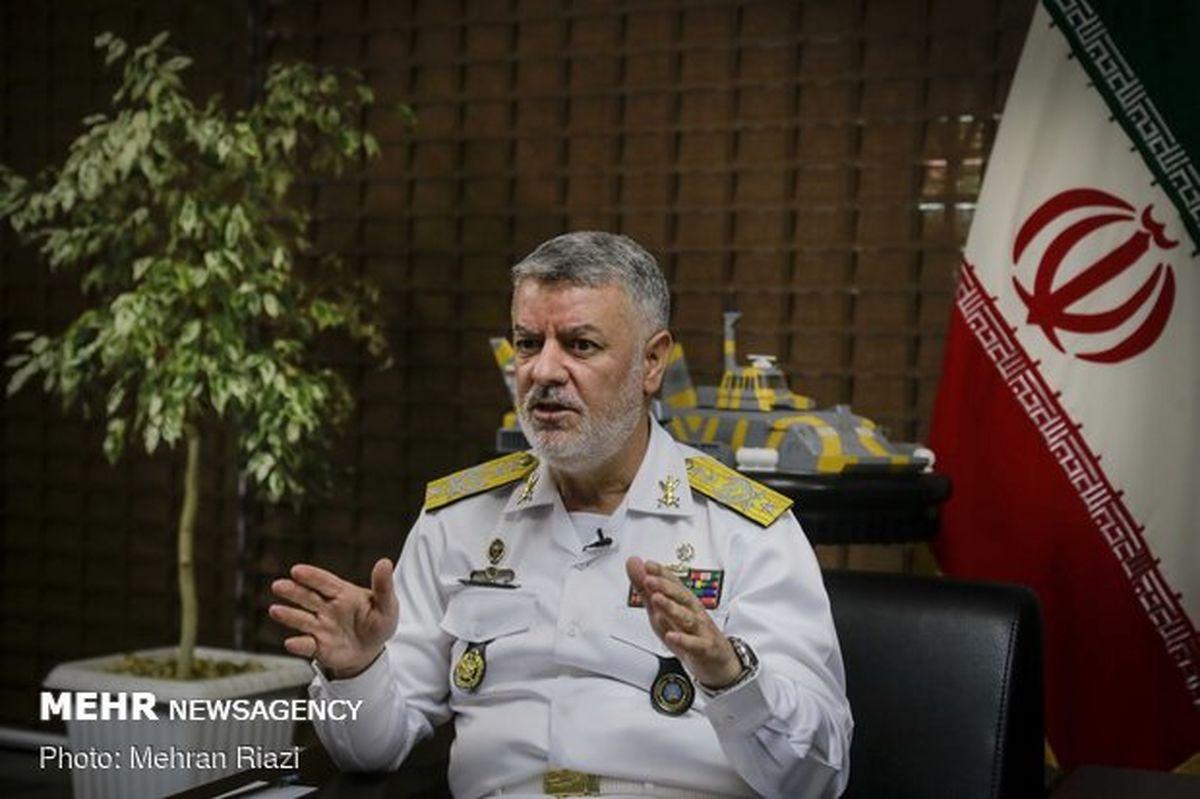 وعده شیرین فرمانده نیروی دریایی ارتش