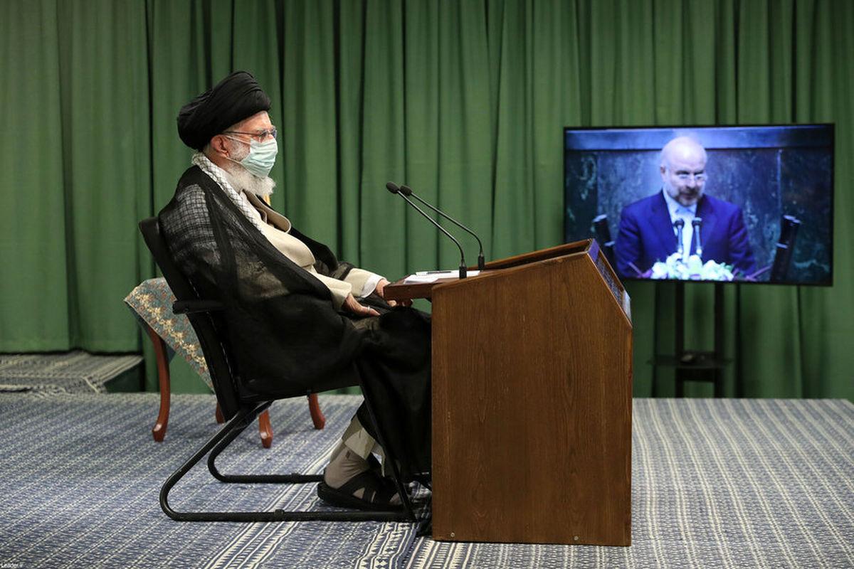 رئیس مجلس: رهنمودهای رهبر انقلاب را اجرا خواهیم کرد