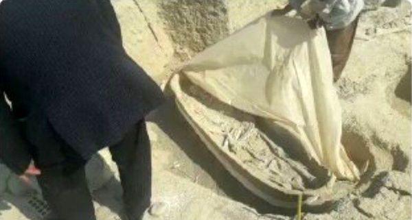 ببینید نابودی تابوتهای باستانی و اجساد سالم جوبجی بر اثر تعلل مسئولان