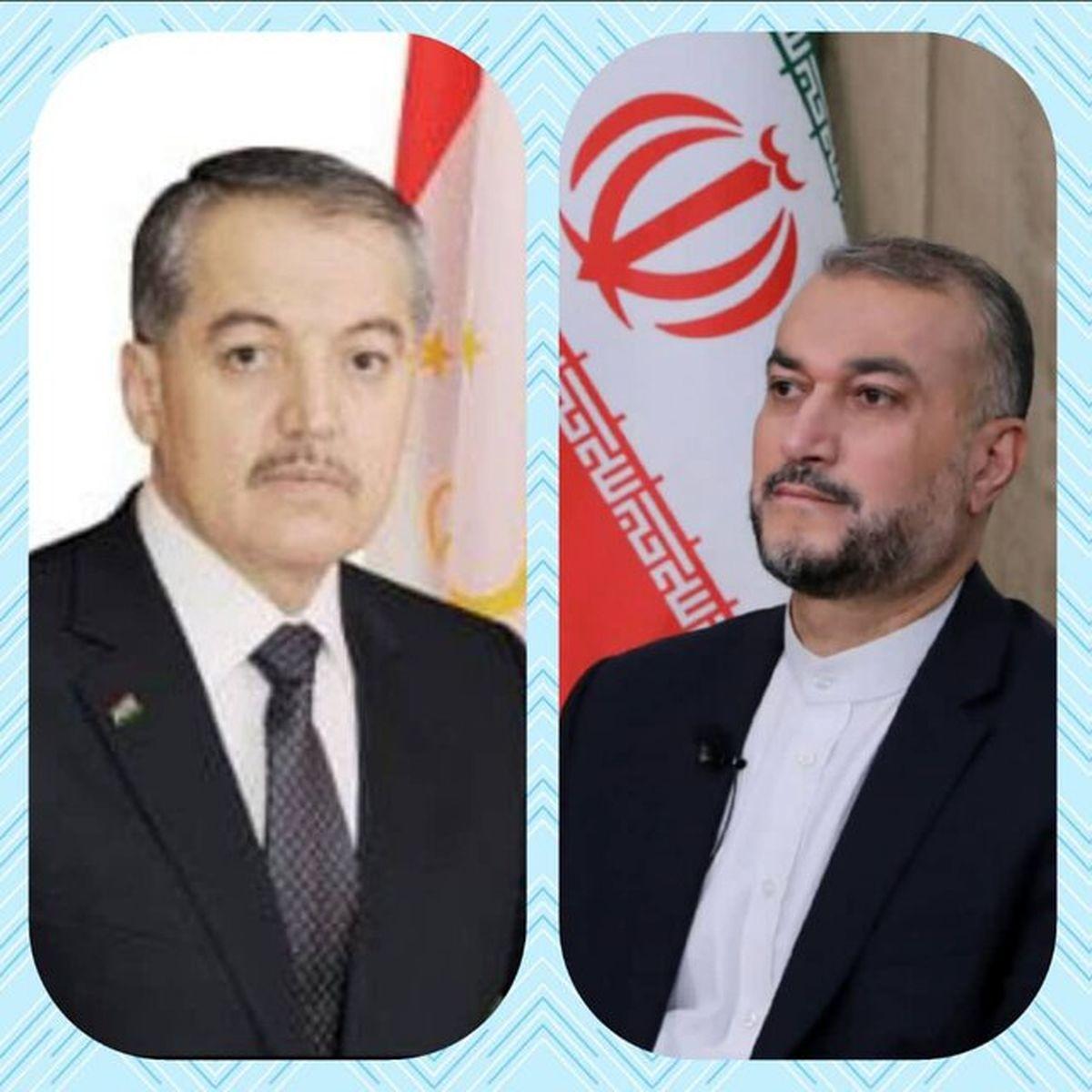 امیرعبداللهیان به وزیر خارجه تاجیکستان پیام داد