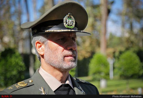 رد دخالت ایران در حمله به تاسیسات نفتی آرامکو  از سوی وزیر دفاع