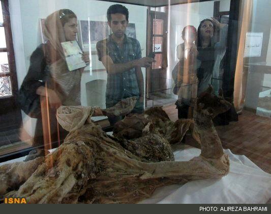 مرد نمکی شماره 4 زنجان در جمع آثار ملی + غکس