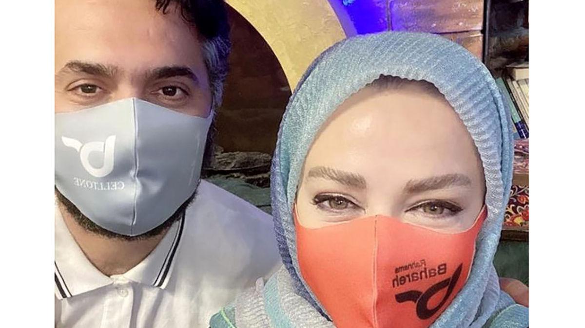 دعوای پر سروصدا بهاره رهنما و همسرش در لایو اینستاگرام! +فیلم