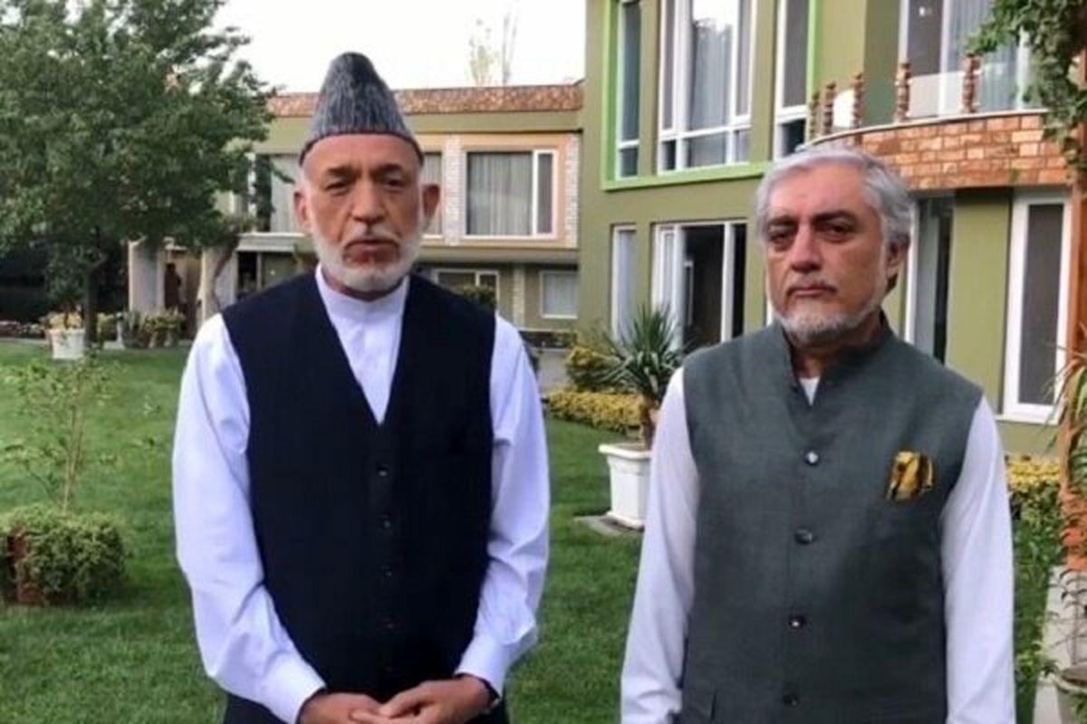 حبس خانگی؛ خیانت طالبان به حامدکرزای و عبدالله