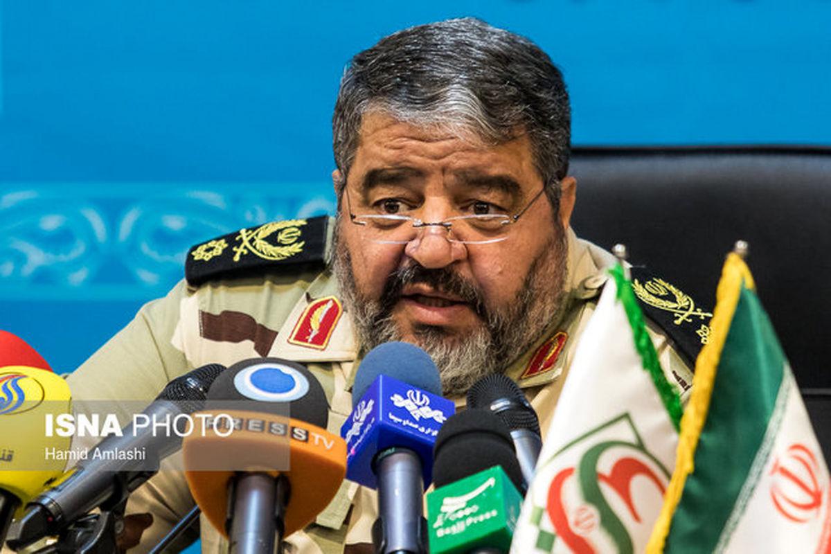 سردار جلالی: تهدید نظامی علیه ما منتفی شده است