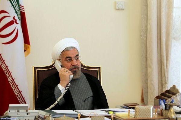 روحانی به قم تلفن زد و امید داد