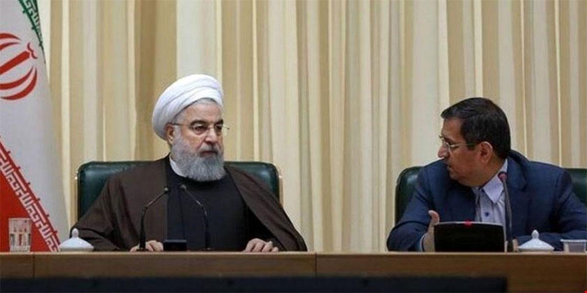 نامه گلهآمیز رئیس بانک مرکزی به روحانی