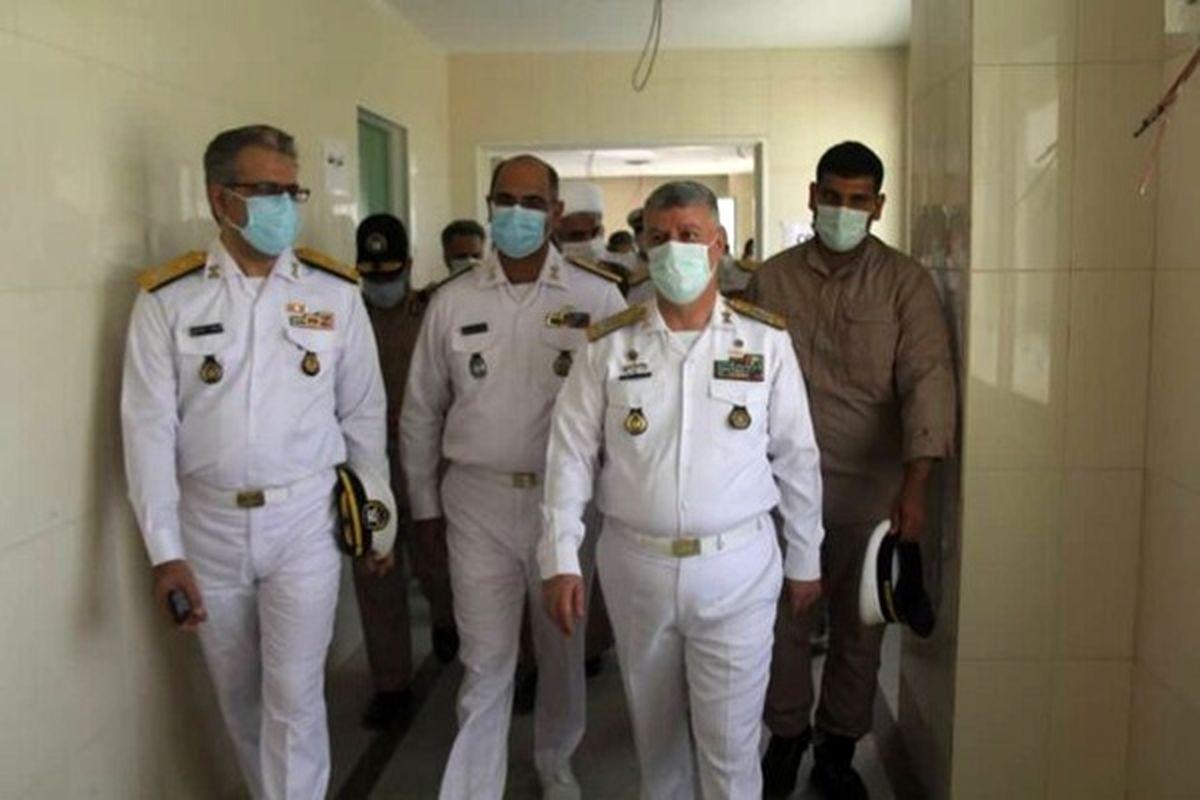 افتتاح بزرگترین بیمارستان تخصصی نیروی دریایی ارتش
