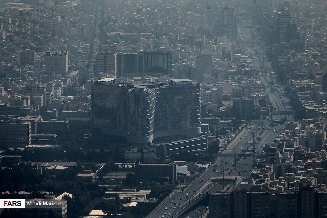 تصاویر آلودگی شدید هوای تهران